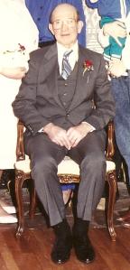 Dad sitting